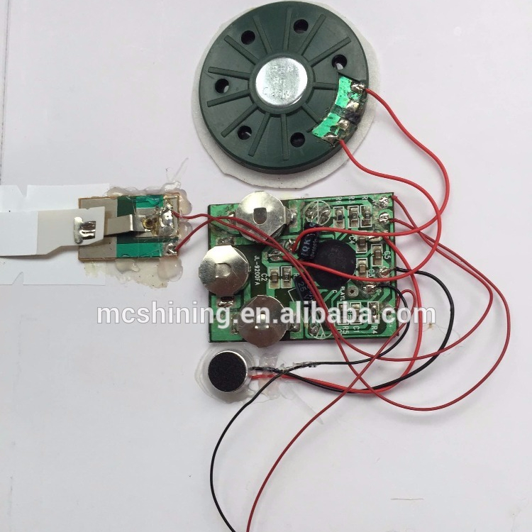 sound recording chip/voice module/music device