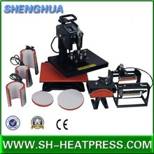 Sunmeta t-shirt printing 8 in 1 Combo Heat Press