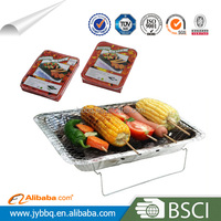 2014 China hot selling cheap price picnic disposable bbq grill/disposable bbq for sale