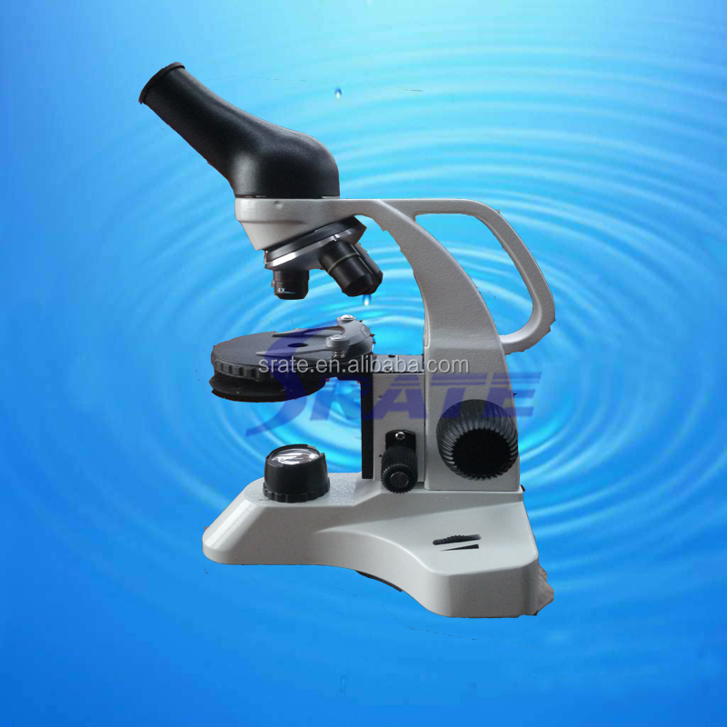 monocular student Laboratory microscopes with fine adjustment for school beginner use
