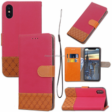 New Arrival Luxury Business Type High Quality Leather Cover For Xiao mi Red mi 4X with wallet function