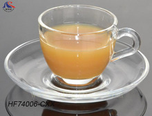 High quality clear coffee cups glass tea cup set