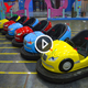 Amusement Park Child Electric Ground Net Bumper Car Tube Toys