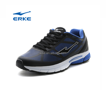 ERKE wholesale prices black mens sports shoes running shoes directly sale