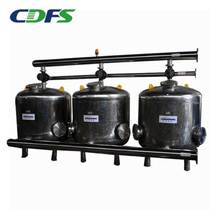 Agricultural sand media filter for water treatment