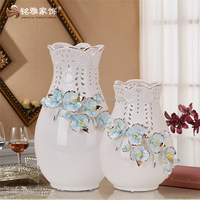 Ordinary house adornament regular home decoration pottery for flower gift flower holder