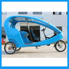 Three Wheel Passenger Transported Bicycle Cab Taxi
