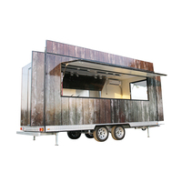 FV-55 food cart manufacture in maila big bbq food cart designing fast food kiosk booth