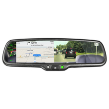 GERMID New Product 4.3 Inch Ultra-High Brightness Rear View Mirror Monitor With MIRROR LINK And Information Synchronization