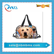 High Quality 3D Printing Cotton Leisure Pet Travel Bag