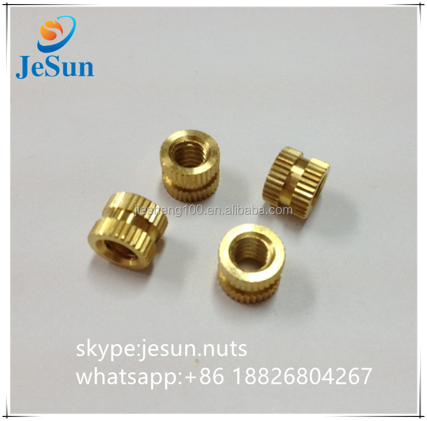 Brass In Mold Threaded Insert M3