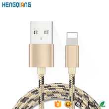 Fashion Design Beautiful Pattern For Apple USB Data Cable