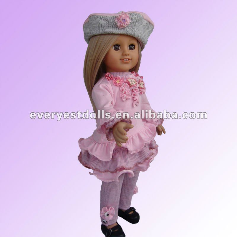 lifelike handmade clay doll/pink pony toys/professional doll manufactory
