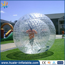 2017 High quality strong material PVC/TPU inflatable zorb ball for sale