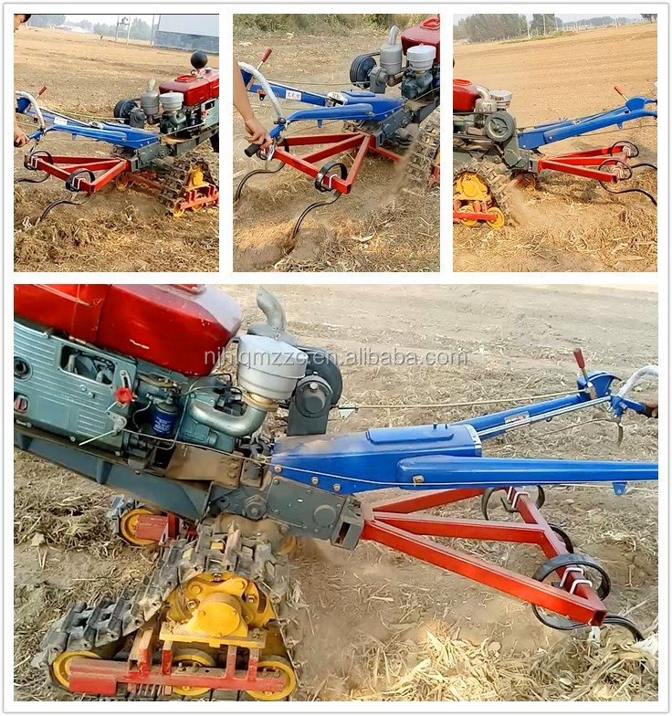 crawler cultivators malaysia with implements swamp land tractor kubota