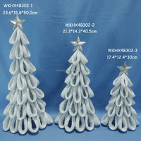 Hot sale artificial metal spiral christmas tree