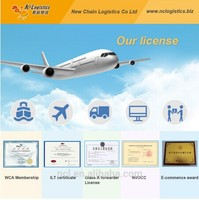 Cheap FBA shipping air freight rates fujian/china to usa/Amazon