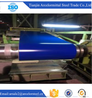 Trade assurance SGCC PE Blue color coated Galvanized Steel Coil 0.32*914mm alibaba com