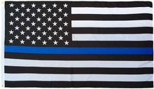 Thin Blue Line Flag USA 5 x 3 FT Full Size Police Flag For Men And Women Of Law Enforcement, Show Pride For Your Local Police