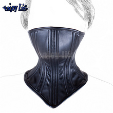 Sex Adult Collars PU Leather Bondage Collar Masks Locking Buckle Fetish Slave Neck Cuffs Restraints Sex Products For Couples