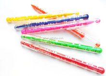 plastic puzzle ball pen,maze pen with free logo printing