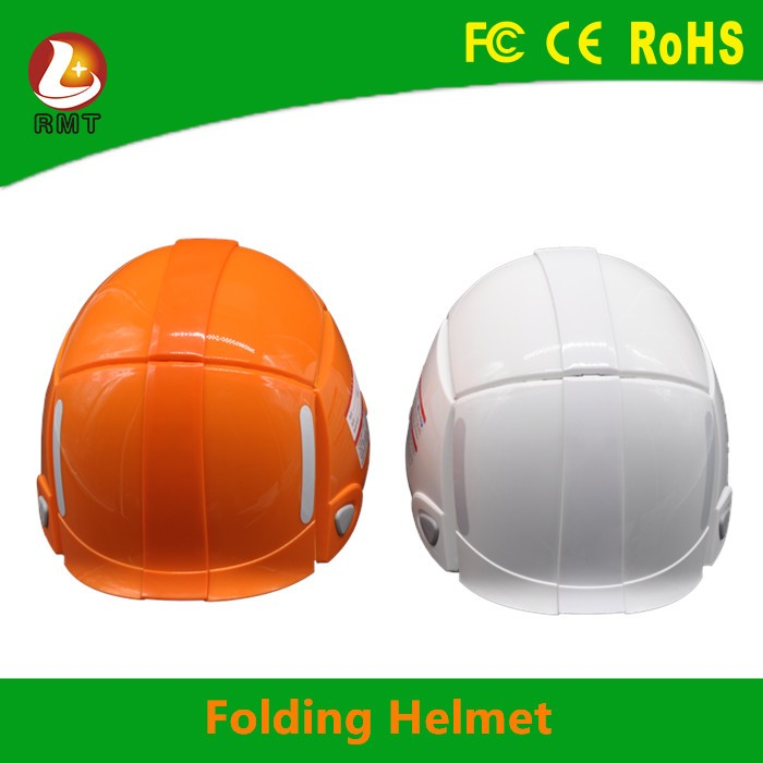 construction equipment foldable helmet low price retard function of safety hats and caps