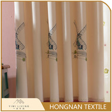 Best selling custom cotton luxury blackout anging curtain