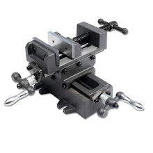 "3"" 4"" 5"" 6"" 8"" Heavy Duty 2-Way Vertical and Horizontal Cross Slide Drill Press Vise for Milling"
