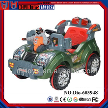 Factory cheap price plastic electric toy ride on car for children