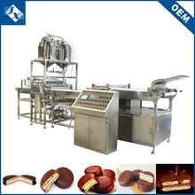China manufacture hygienic chocolate pie prices of gas bakery ovens