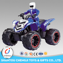 Newest plastic 4 channel mini rc nitro motorcycle