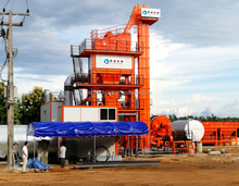 120T/h Stationary Asphalt Mixing Plant