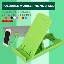 Multiple Angles Desktop Folding Mobile Phone Stands