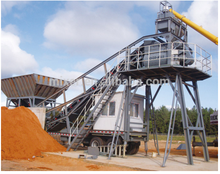 economic practical new product economic containers fixed concrete mixing plant /batching plant in China