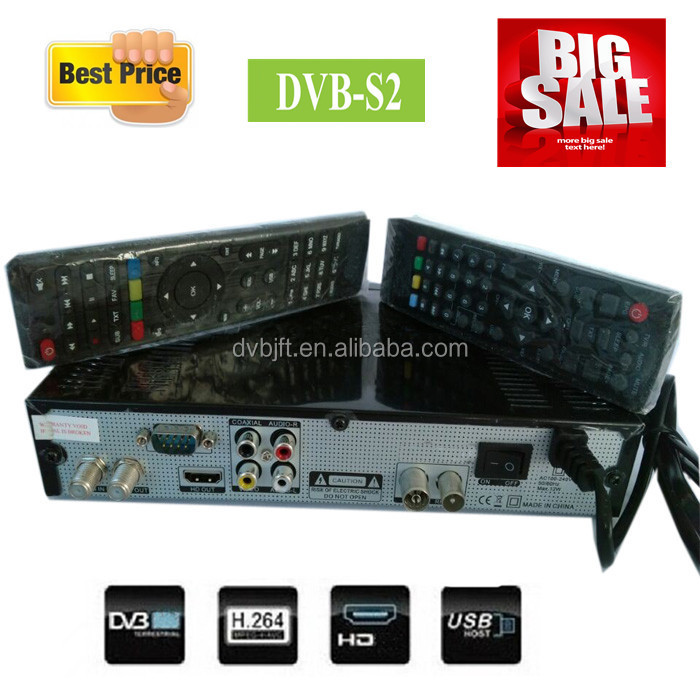 cheap price dvb-s2 set top box satellite receiver with dongle open pay channels for africa