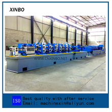 welded round duct roll former High frequency straight seam weld pipe roll forming machine