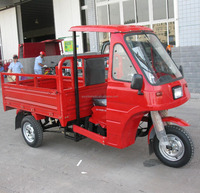 175cc three wheel motorbike, three wheel vehicle, cabin tricycle for cargo
