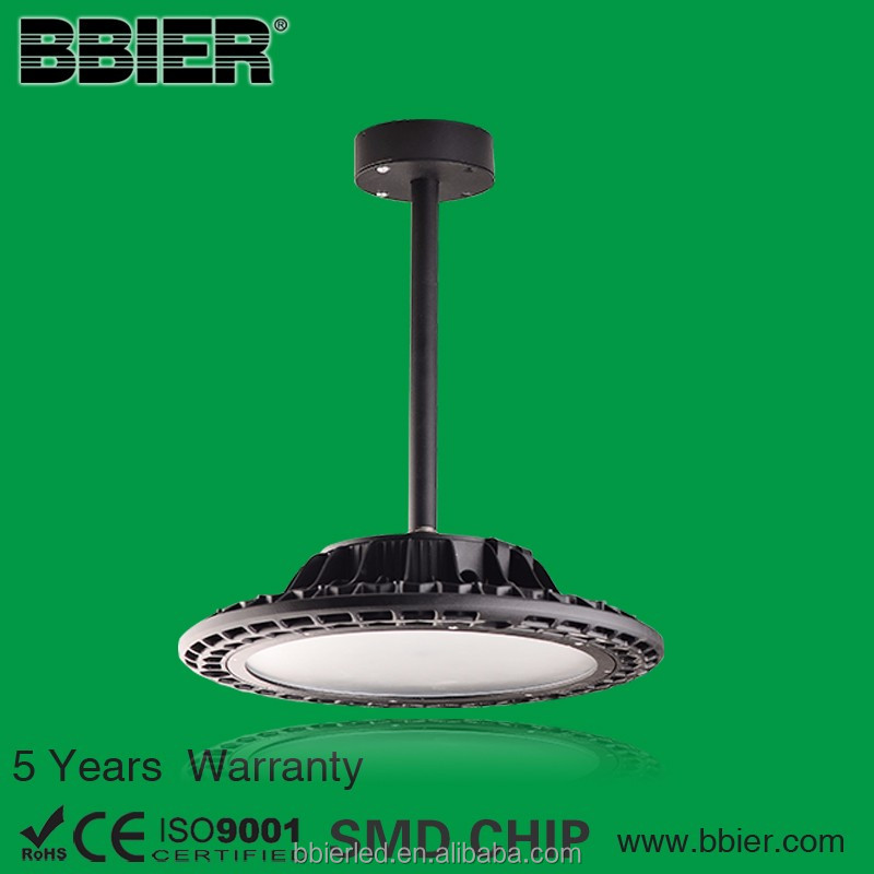 modern 100w industrial bronze warehouse round led pendant light