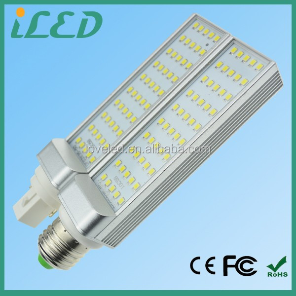 CE ROHS listed 180 degree rotatable lamp base 4000K 220V 240V 10w g24q-3 corn led light