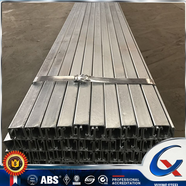 Alibaba online supplier hot dip galvanized c channel for solar frame