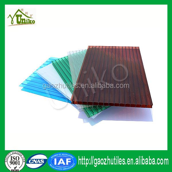 Certificat de garantie de qualit iso9001 uv prot g s en - Polycarbonate prix m2 ...