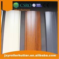 Steel Motorized Roller Shutters Door 77mm Foam Lath