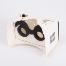 Easy setup google cardboard virtual reality v2 cardboard vr box cardboard kit for smart phone