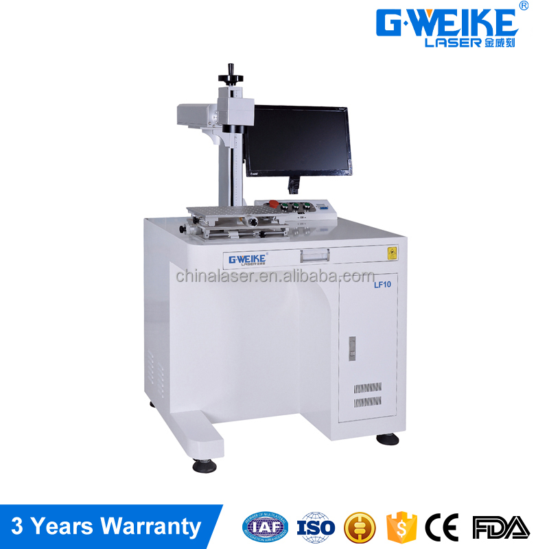 2016 new Chinese factory Fiber Laser marker machine low price China 10W 20W 30W 50W