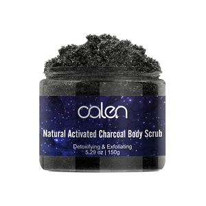Activated Exfoliating Body Facial Scrub Natural Organic Charcoal Scrub