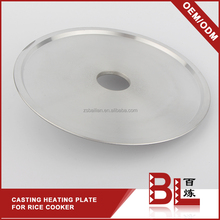 Safety Reasonable design buffalo rice cooker parts / rice cooker heating plate