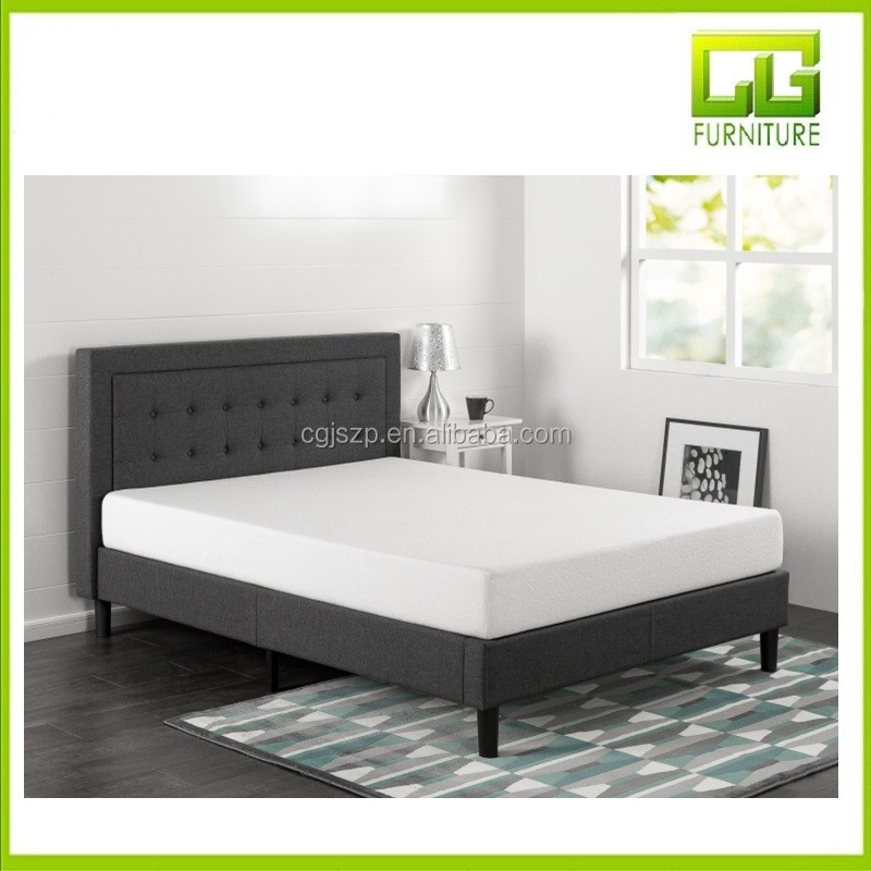 Compact Square Platform Bed