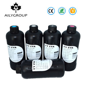 CE certificate Curable uv ink c/m/y/k/lc/lm uv ink for uv printer .