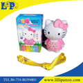 Educational toy cute cat learning machine for children