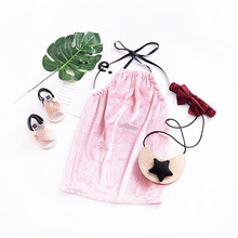 New Fashion Summer Baby Girl's Sexy Dress Fashion Design Small Girls Dress